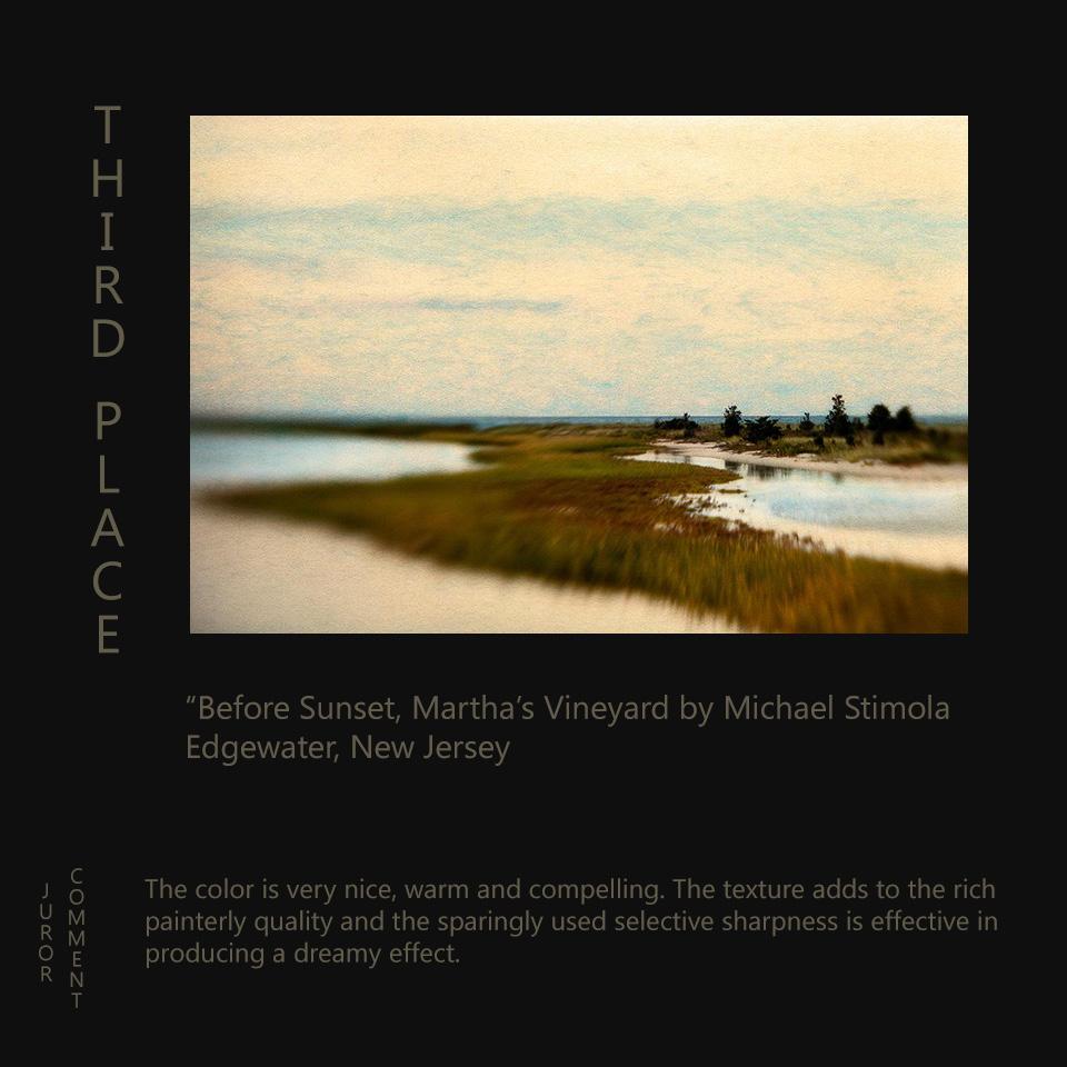 10 - Stimola, Before Sunset, Martha's Vineyard