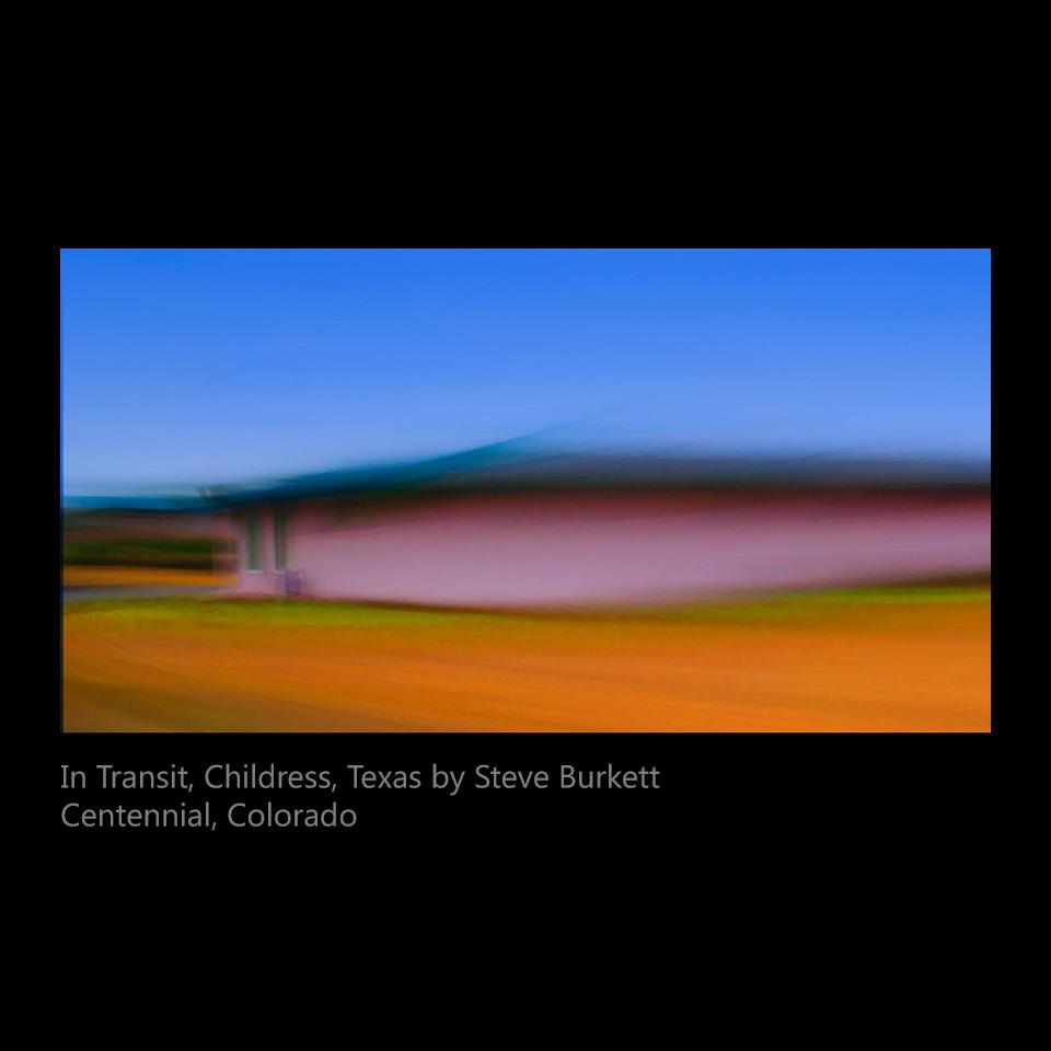 Burkett, Steve - In Transit, Childress TX