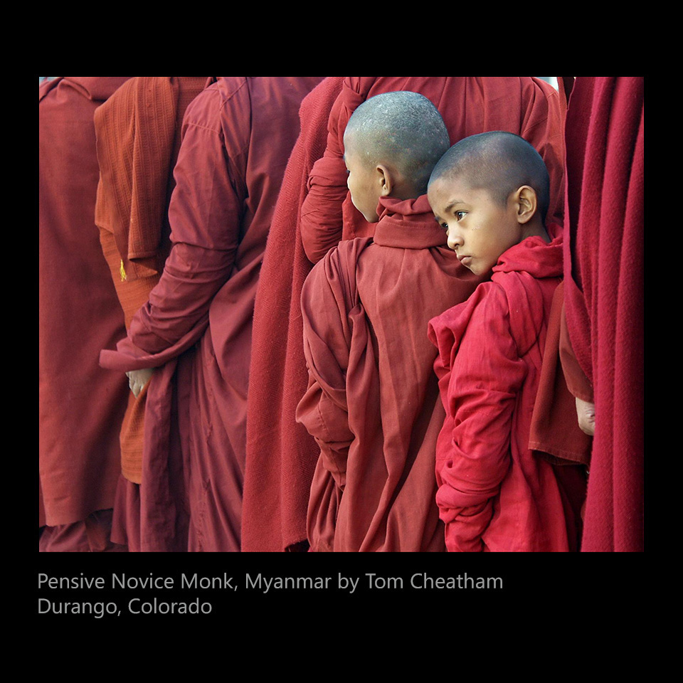Cheatham, Tom - Pensive Novice Monk