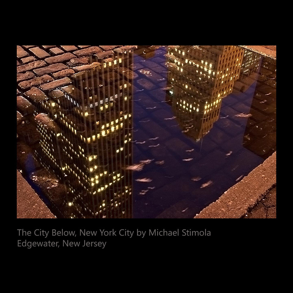 Stimola, Michael - The City Below, New York City