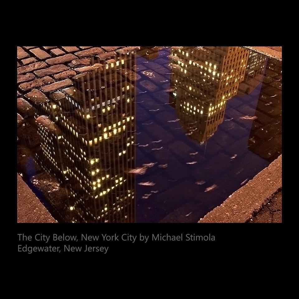 Stimola, Michael - The City Below, New York City